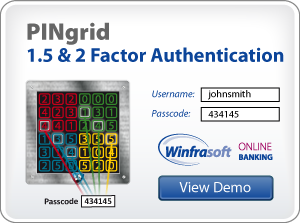 Winfrasoft PINgrid 1.5 and 2 Factor Authentication