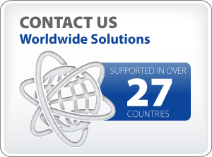 Worldwide solutions in 27 countries