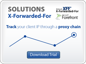 X-Forwarded-For for ISA, TMG and IIS